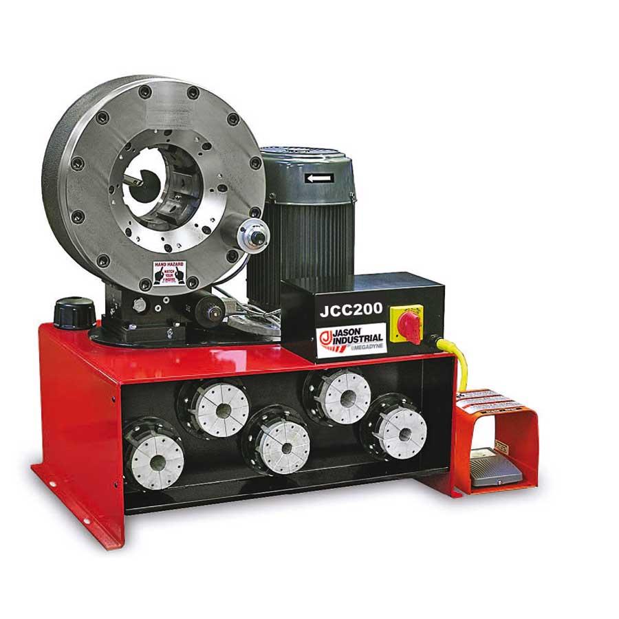 prensadora de manguera hidraulica